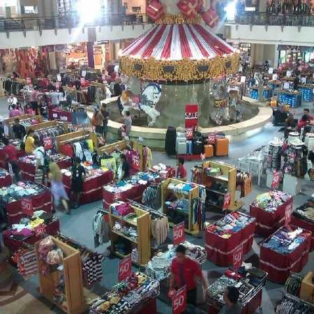 Galeria Shopping Centre - Hire Bali car driver for Private Tour